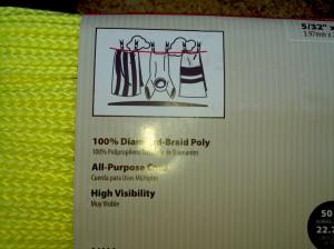 Polyproplene cord